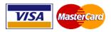 Acepatmos tarjetas Visa y Mastercard