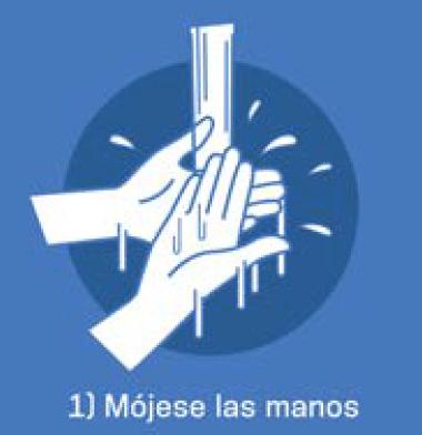 1 Mójese las manos