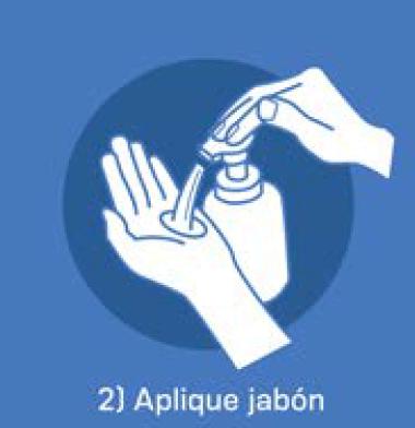 2 Aplique jabón
