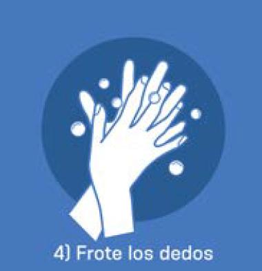 4 Frote los dedos