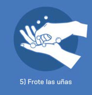 5 Frote las uñas
